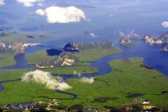 öar phuket Arkivfoto