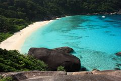 öar phuket similan thailand Arkivbilder
