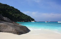 öar phuket similan thailand Royaltyfria Foton