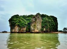 Öarna av Khao Phing Kan Royaltyfria Foton