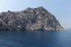 Öarna i det Aegean havet, Turkiet, Marmaris Fotografering för Bildbyråer