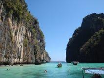 Öarna i det Andaman havet Arkivfoto