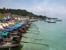 Öarna i det Andaman havet Royaltyfria Bilder