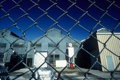 öde fabrik arkivfoton