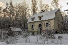 öde hus Royaltyfria Bilder