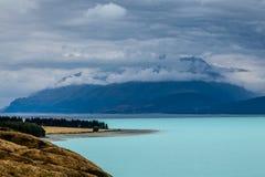 Öde shoreline Fotografering för Bildbyråer