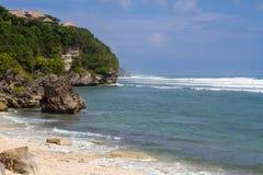 Öde strand Royaltyfri Bild