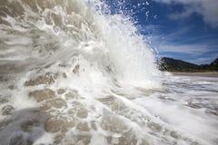Öde strand Royaltyfria Foton