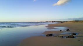 Öde strand, el-ocotillo Royaltyfria Bilder