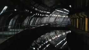Ödelägga bunker för ubåtar stock video