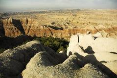 Ödländer South Dakota Lizenzfreie Stockfotografie
