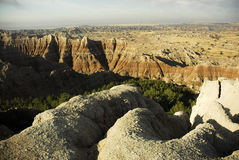 Ödländer South Dakota Lizenzfreie Stockbilder