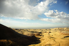 Ödländer South Dakota Lizenzfreies Stockbild
