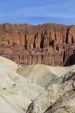 Ödländer und Sandsteinklippen in Death Valley Lizenzfreie Stockfotografie