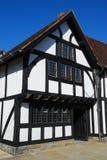 Öffentliche Bibliothek bei Stratford nach Avon Lizenzfreies Stockfoto