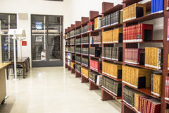 Öffentliche Bibliothek Mario de Andrade Stockfotografie