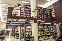 Öffentliche Bibliothek Mario de Andrade lizenzfreie stockfotos