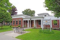 Öffentliche Bibliothek und Museum in historischem im Stadtzentrum gelegenem Hamilton, neues Yor Stockfoto