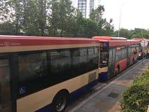 Öffentliche Transportmittel lizenzfreie stockbilder