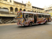 Öffentliche Transportmittel Stockfotos