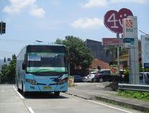 Öffentliche Transportmittel stockfotografie