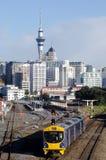 Öffentliche Transportmittel in Auckland Stockbild