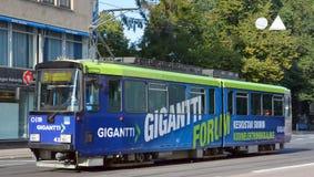 Öffentliche Transportmittel Helsinkis stockbild