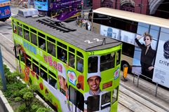Öffentliche Transportmittel Hong Kong Stockbilder