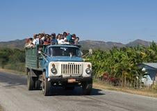 Öffentliche Transportmittel, Tal des Ingenios, Kuba Stockfotos