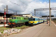 Öffentlicher Transport in Polen Lizenzfreies Stockbild