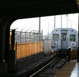 Öffentlicher Transport - Untergrundbahn stockfoto