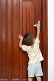 Öffnen der Tür Lizenzfreie Stockfotos