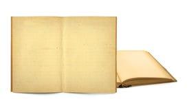Öffnen Sie alte Bücher Stockfotografie