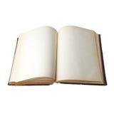 Öffnen Sie altes Buch Lizenzfreie Stockfotografie