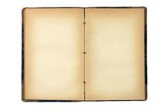 Öffnen Sie altes unbelegtes Buch Lizenzfreie Stockbilder
