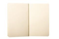 Öffnen Sie Anmerkungs-Auflage Stockfoto