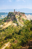 Öffnen Sie Ansicht von Civita di Bagnoreggio Lizenzfreie Stockfotografie