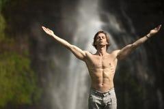 Öffnen Sie Arm-Wasserfall Stockbilder