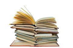 Öffnen Sie Bücher Lizenzfreie Stockfotos