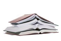 Öffnen Sie Bücher Lizenzfreie Stockbilder