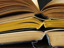Öffnen Sie Bücher Stockfotografie