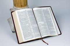 Öffnen Sie Bibel Stockfotografie