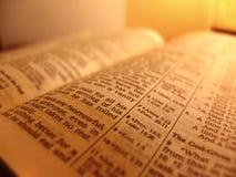 Öffnen Sie Bibel Lizenzfreies Stockbild