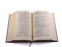 Öffnen Sie Bibel - griechisches altes Testame stockfotos