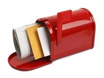 Öffnen Sie Briefkasten Stockbilder