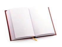 Öffnen Sie Buch lizenzfreies stockbild