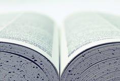 Öffnen Sie Buch Lizenzfreie Stockbilder