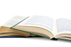 Öffnen Sie Buch. Lizenzfreies Stockfoto