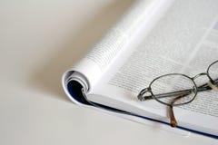 Öffnen Sie Buch lizenzfreie stockfotos