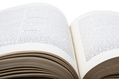 Öffnen Sie Buch Stockfotos